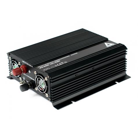 Przetwornica napięcia IPS-2000 12V-230V (Gwarancja 3 lata)