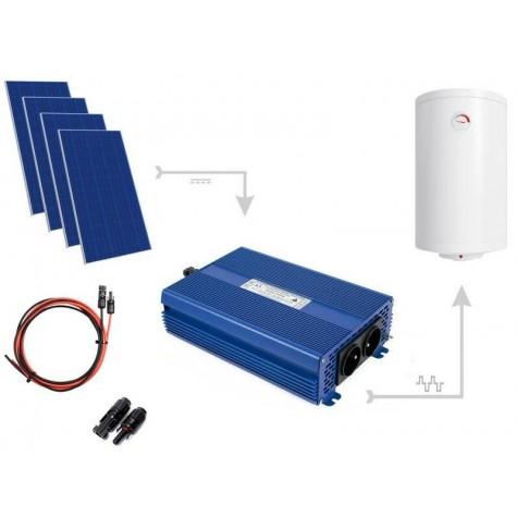 Zestaw fotowoltaiczny do grzania wody w bojlerach ECO Solar Boost 1100W MPPT 4xPV Poli