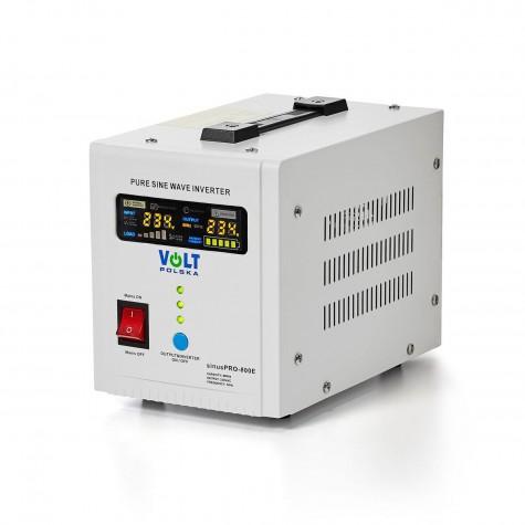 Zasilanie awaryjne sinusPRO-800E z UPS oraz ładowaniem