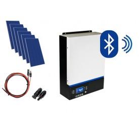 Hybrydowy zestaw solarny off-grid ESB-6kW-24 MPPT 8xPV Poli