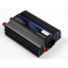 Przetwornica napięcia prądu 600W/1200W 12V-230V z USB (M-POWER)