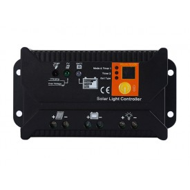 Solarny kontroler regulator ładowania PWM SOL-10S 12/24 - 20A