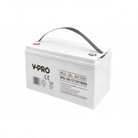 Akumulator żelowy GEL VPRO 12V pojemność 100Ah VRLA bezobsługowy