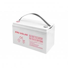 Akumulator żelowy GEL DEEP CYCLE 12V pojemność 110Ah VRLA bezobsługowy