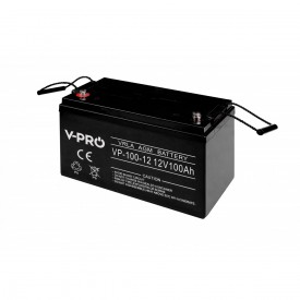 Akumulator żelowy AGM 12V pojemność 100Ah VPRO