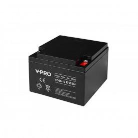 Akumulator żelowy AGM 12V pojemność 26Ah VPRO