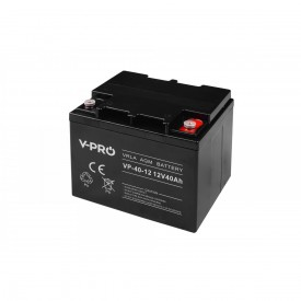 Akumulator żelowy AGM 12V pojemność 40Ah VPRO