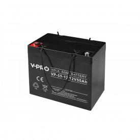 Akumulator żelowy AGM 12V pojemność 55Ah VPRO