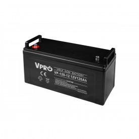 Akumulator żelowy AGM 12V pojemność 120Ah VPRO