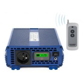 Przetwornica napięcia 12 VDC / 230 VAC ECO MODE PRO SINUS IPS-1000S PRO 1000W
