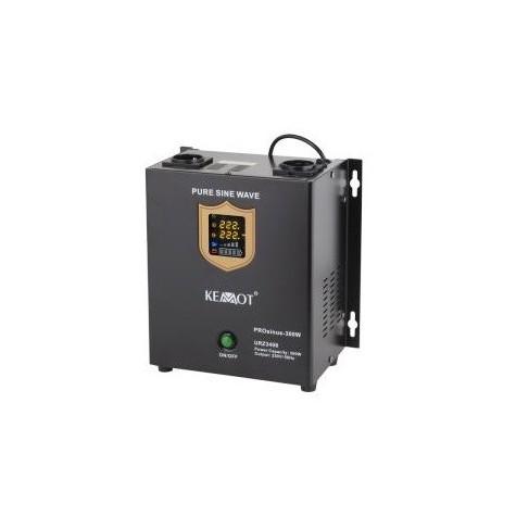 Zasilanie awaryjne pełny sinus 300/500W z UPS do pieca CO (PROsinus-300) montowane na ścianę