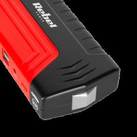 Jump starter - power bank z przewodami rozruchowymi