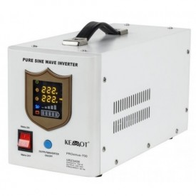 Zasilanie awaryjne pełny sinus 700/1000W z UPS do pieca CO (PROsinus-700) montowane na ścianę