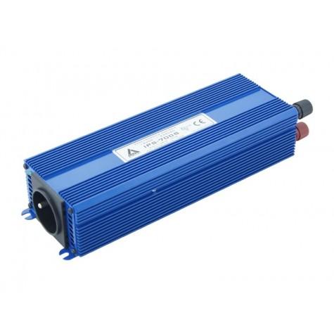Przetwornica napięcia pełny sinus IPS-700S 12V-230V (Gwarancja 5 lat)