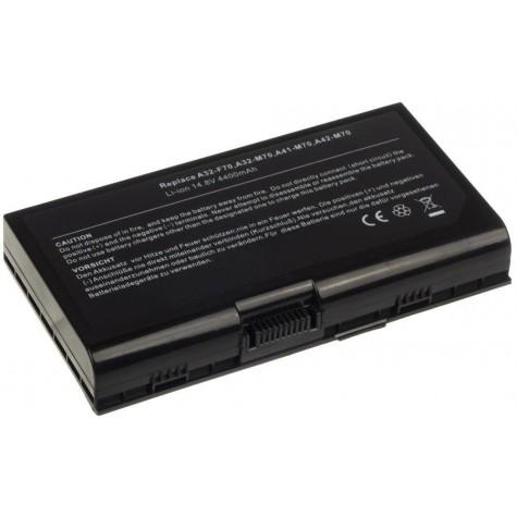 Bateria do laptopa ASUS M70, X71, G71, X72, N70, F70 A42-M70 M70V X71A X71SL N70 poj. 4400mAh