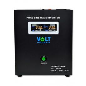 Zasilanie awaryjne UPS sinusPRO-1000W z ładowaniem (do powieszenia)