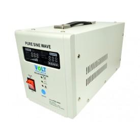 Zasilanie awaryjne UPS sinusPRO-500S z wbud. regulatorem solarnym PWM/MPPT