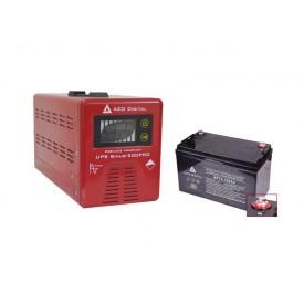 Zasilanie awaryjne 350/500W PEŁNY SINUS (UPS+AVR) oraz ładowaniem