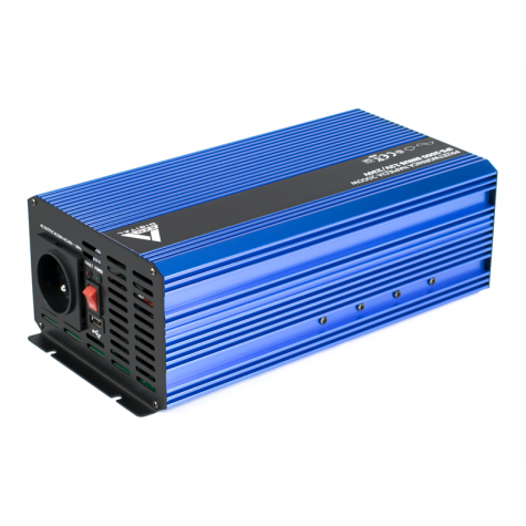 Przetwornica napięcia sinus IPS-2000S 12V-230V (Gwarancja 3 lata)